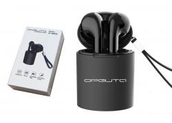 Bluetooth наушники-гарнитура Орбита OT-ERB29 (TWS3) Черные (bluetooth)