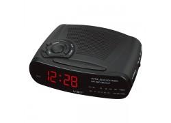VST 906-1 Красные часы настольные + радио
