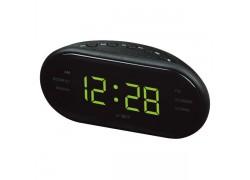 VST 902-2 Зеленые часы настольные + радио