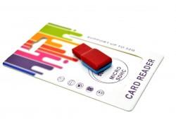Card Reader -брелок Micro SD универсальный