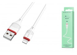 Кабель для iPhone BOROFONE BX17 Enjoy charging cable for Lightning 1м белый