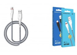 Кабель USB micro USB BOROFONE BX25 Powerful charging data cable (белый) 1 метр