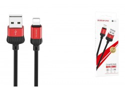 Кабель для iPhone BOROFONE BX28 Dignity charging data cable for Lightning 1м красный