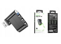 Разветвитель USB HUB Type-C (M) --> 3xUSB2.0 BOROFONE DH3