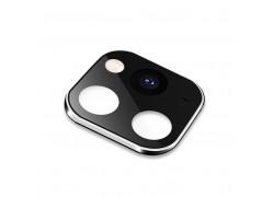 Защитная рамка камеры iPhone X/XS/XR/X Max черная (имитация 11 Pro)