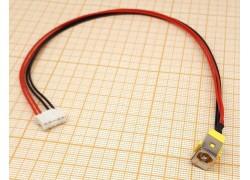 Разъем питания для ноутбука Acer 7735 с кабелем 23см