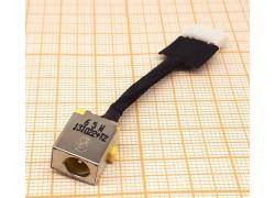 Разъем питания для ноутбука Acer 7741 с кабелем 4.5см