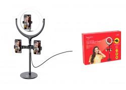 Кольцевая лампа настольная HOCO LV-01 (26 см) для фото и видеосъемки