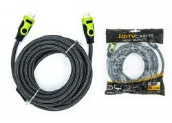 HDMI кабель (V1.4) 15 метров cooper зеленый