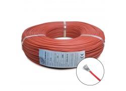 Провод AWG8 медный многожильный 1 метр (красный)