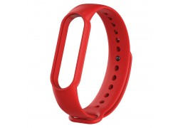 Ремешок силиконовый для XIAOMI MI Band 5 красный