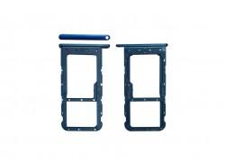 Держатель Sim Huawei Honor 9 Lite синий