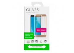 Защитное стекло дисплея Huawei Mate 10  Full Screen 5D белое (без упаковки)