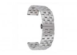 Металлический браслет для Apple Watch 38-40 мм цвет серебристый