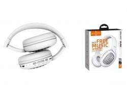 Беспроводные внешние наушники HOCO W23 Briliant sound wireless headphones белый