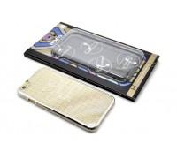 Чехол для iPhone 6/6S пластиковый HOCO Plaid Pattern Plating белая (в фирменной упаковке)