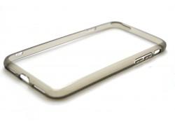Пластиковая накладка iPhone 7  (4.7)   с силиконовым бампером NEW золотистая
