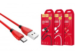 Кабель USB micro USB HOCO X27 Excellent charge charging data cable (красный) 1 метр