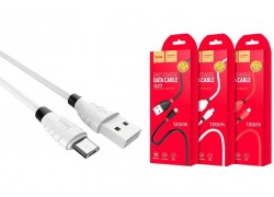 Кабель USB micro USB HOCO X27 Excellent charge charging data cable (белый) 1 метр