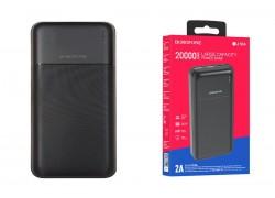 Универсальный дополнительный аккумулятор BOROFONE BJ16A power bank (20000 mAh) черный