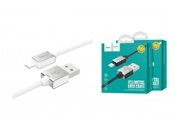 Кабель для iPhone HOCO U49 charging cable 1м белый
