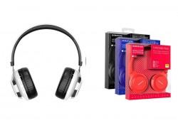 Беспроводные внешние наушники BO8 BOROFONE Love Sound wireless headset белый