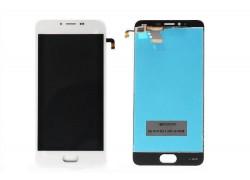 Дисплей для Meizu M5 (M611h)/ M5 mini в сборе с тачскрином (белый)