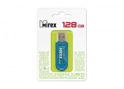 USB 3.0 флэш-накопитель  128 ГБ  Mirex ELF BLUE 128GB (ecopack)