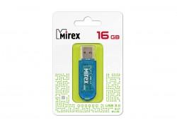 USB 3.0 флэш-накопитель  16 ГБ  Mirex ELF BLUE 16GB (ecopack)