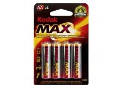 Батарея щелочная Kodak MAX LR6/316 AA BL4 (цена за блистер 4 шт)