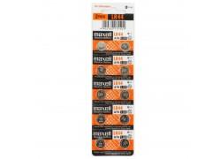 Батарейка часовая Maxell G13 (357A) LR44 BL10 (цена за блистер 10 шт)