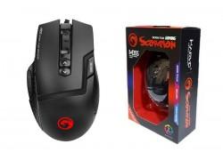 Мышь игровая проводная MARVO M355,  9 кн, 1200-4800dpi, USB,  чёрный