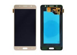Дисплей для Samsung J710FN/DS Galaxy J7 в сборе с тачскрином (золото), OLED
