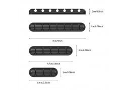 Органайзер для кабелей Орбита OT-OK01 Черный