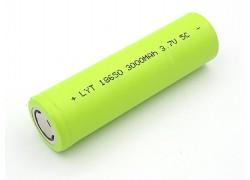 Аккумулятор 18650 (3000mAh, 5С, 20мОм, 500 циклов)