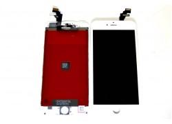 Дисплей для iPhone 6 Plus (5.5) в сборе с тачскрином и рамкой (белый) HQ