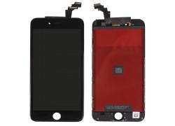 Дисплей для iPhone 6 Plus (5.5) в сборе с тачскрином и рамкой (черный) HQ