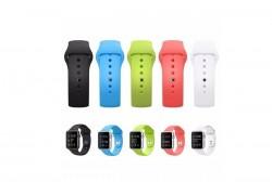 Ремешок силиконовый Apple Watch 38-40 мм цвет в ассортименте