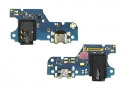 Шлейф для Huawei Honor 9A с разъемом зарядки (плата) HQ