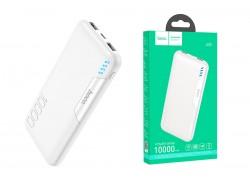 Универсальный дополнительный аккумулятор HOCO J82 power bank (10000 mAh) белый