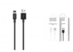 Кабель для iPhone HOCO X23 Skilled lightning charging data cable 1м черный