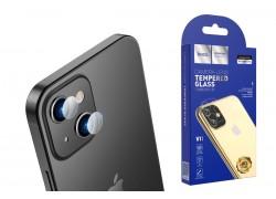 Защитное стекло камеры iPhone 13 Mini (5.4) HOCO Lens flexible прозрачное
