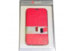 Чехол книжка Samsung Galaxy Note 2 N7100 Crystal Leather Case (розовый) HOCO