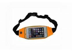 Поясной неопреновый чехол на молнии S3/S4/S5/iPhone 6 (размер 4.7-5.2) оранжевый