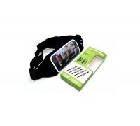 Чехол для Note 5/iPhone 7 Plus (размер 5.5-6.0)  поясной неопреновый черный