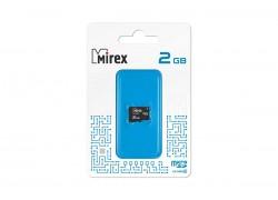 Карта памяти microSD MIREX 2 GB (class 4) без адаптера