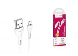 Кабель для iPhone HOCO X37 Cool power charging data cable for Lightning 1м белый