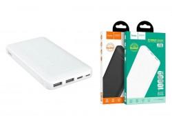 Универсальный дополнительный аккумулятор HOCO  J48 Nimble mobile power bank 10000 mAh белый