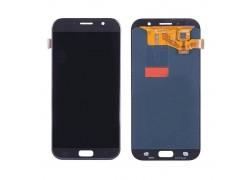 Дисплей для Samsung A720F Galaxy A7 (2017) в сборе с тачскрином (черный), OLED