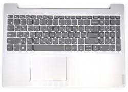 Клавиатура для ноутбука Lenovo IdeaPad L340-15 series в светло сером корпусе с touch панелью ORG